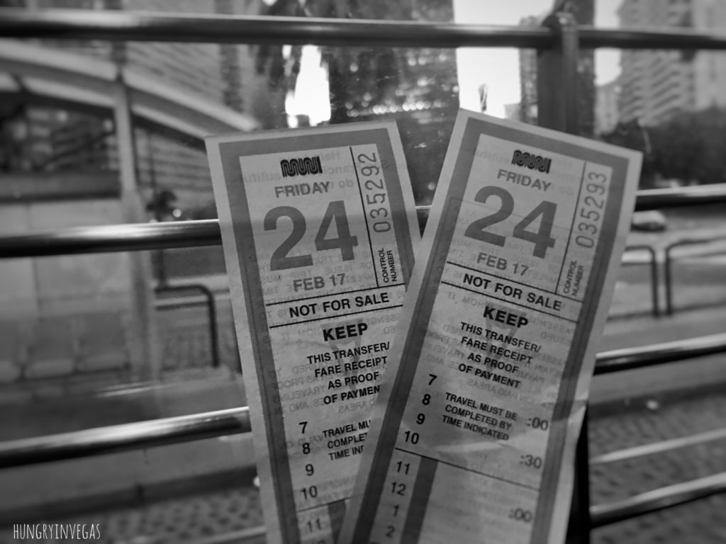Muni tickets