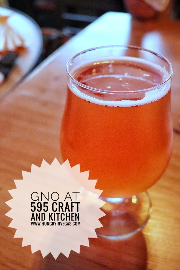 595 Craft and Kitchen beer
