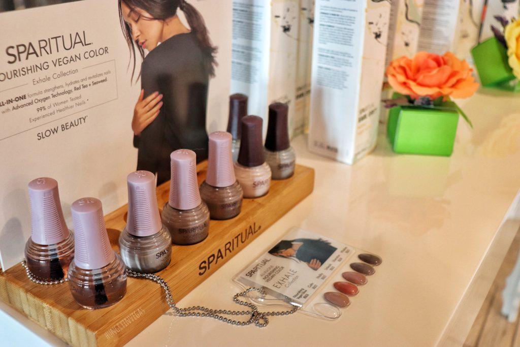 Spa ritual nail polish