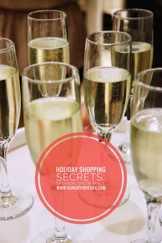 secrets of holiday shopping champagne