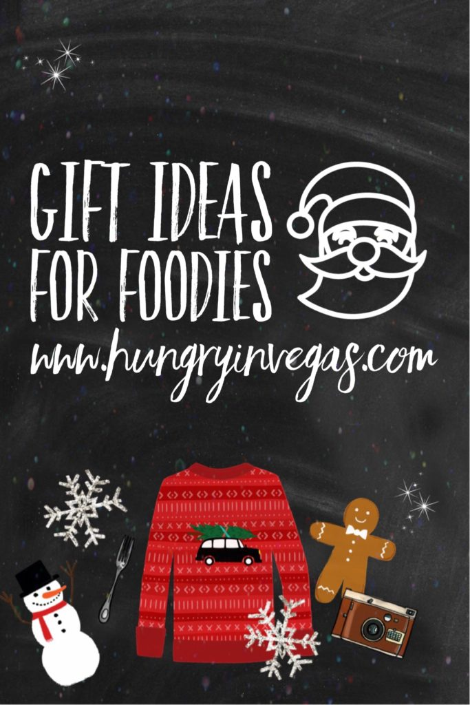 Great gift ideas for foodies