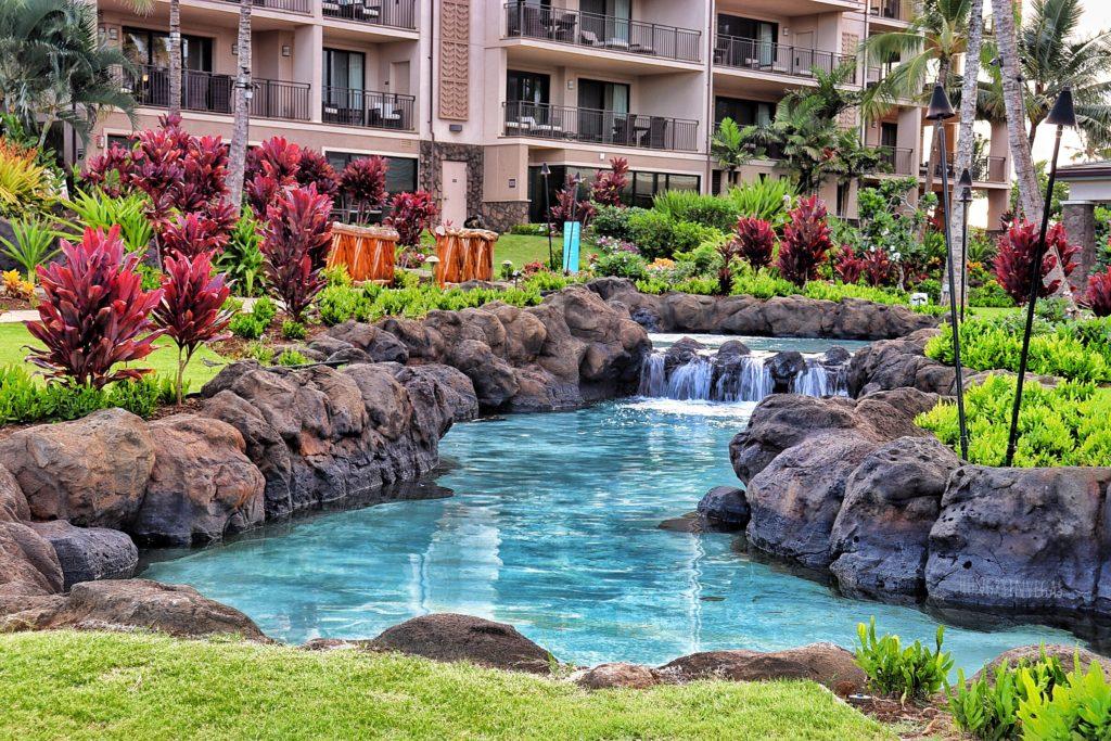 Koloa Landing Resort Landscaping
