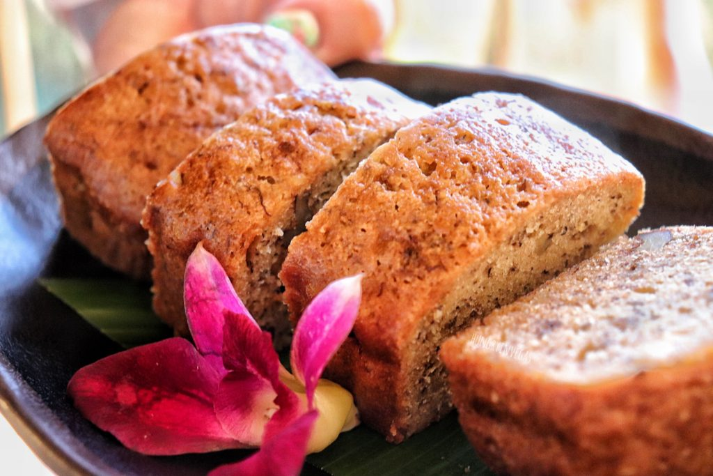 Banana bread courtesy of Koloa Landing Resort