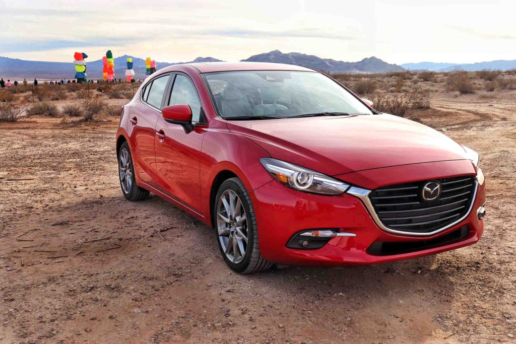 Mazda 3 Seven Magic Mountains