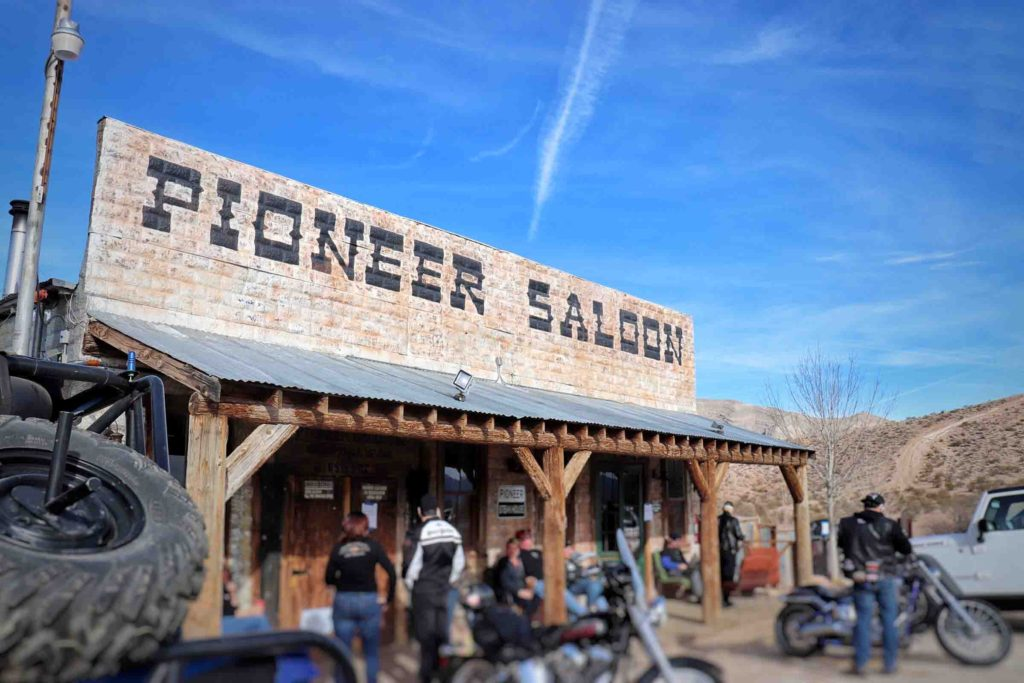 Pioneer Saloon in Goodsprings, NV, less than an hour from Las Vegas.
