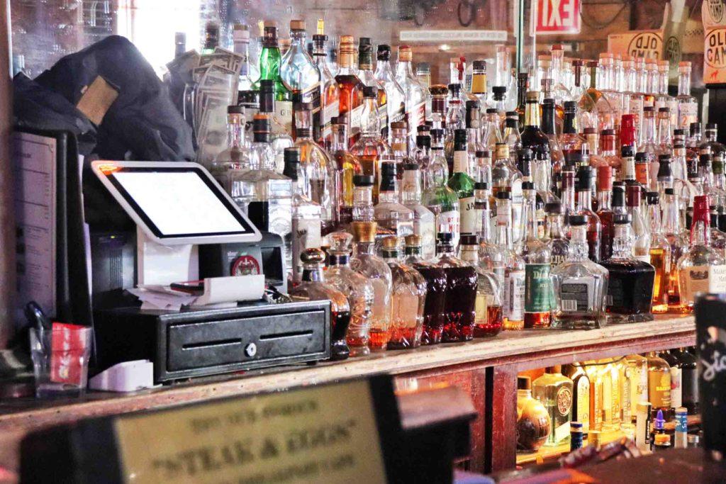 Pioneer Saloon Goodsprings NV bar