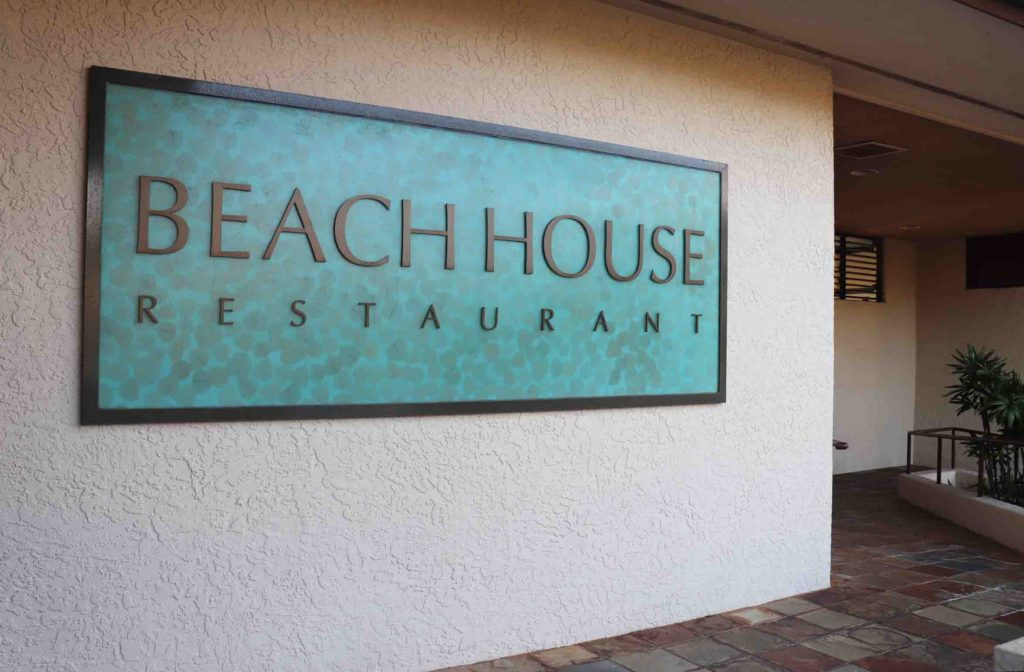Where to eat on kauai the beach house