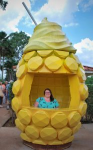 Visiting the Dole Plantation